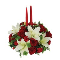 Traditional Holiday Centerpiece (	BF201-11)